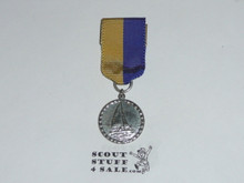 Cub Scout Silver Raingutter Regatta Medal