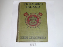 Treasure Island, By Robert Louis Stevenson, 1913, Every Boy's Library Edition, Type Two Binding
