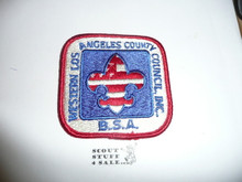 Western Los Angeles County Council Patch (CP)