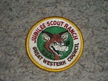 1970's Camp Jubilee Patch - Southern California Scouting
