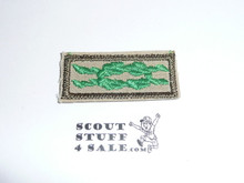 Scouter's Training Award Knot on Tan with Khaki bdr, 1983-current