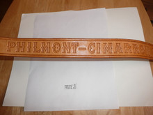 "Philmont Scout Ranch, Tooled Leather Belt, 32"" waist, very light wear"
