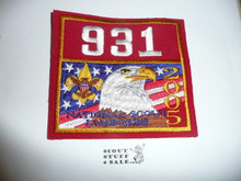 2005 National Jamboree Troop 931 Unit Number, Western Los Angeles County Council Troop