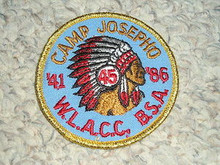 1986 Camp Josepho Patch - 45th Anniversary #3