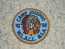 1988 Camp Josepho Patch - 47th Anniversary #2