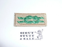 Scouter's Training Award Knot on Tan with Tan bdr, 1983-current
