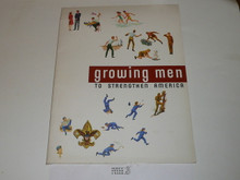 Growing Men to Strengthen America Promotional Pamphlet, colorful, 1964