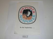 Boypower Manpower Program Flyer