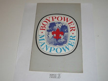 Boypower Manpower Program pamphlet, 5-68 printing, 24 pages