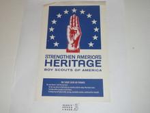 Strengthen America's Heritage Flyer