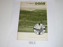 Project SOAR (Save Our American Resources) Book, 1971, 34 pages