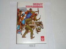 1976 Boy Scout Handbook, Eighth Edition, Fourth Printing, MINT condition, Csatari Cover, only used for two printings