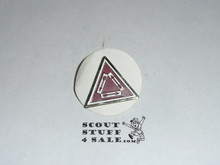Order of the Arrow Vigil Triangle Pin