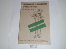Junior Leader Training Events, 11-59 printing
