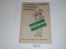 Junior Leader Training Events, 4-58 printing