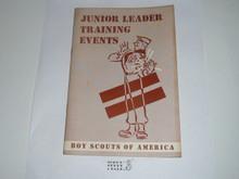 Junior Leader Training Events, 11-56 printing