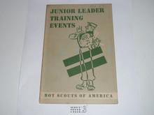 Junior Leader Training Events, 1-50 printing