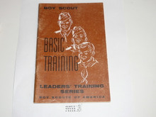 Leader Training Series, Basic Training, 9-56 printing