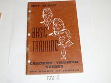 Leader Training Series, Basic Training, 1-59 printing