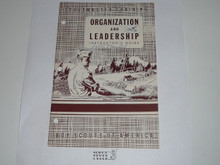 Scoutmaster Training, Organization and Leadership Instructor's Manual, 1-53 printing