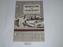 Scoutmaster Training, Organization and Leadership Instructor's Manual, 4-49 printing