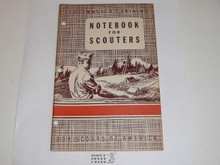 Scoutmaster Training, Notebook for Scoutmasters, 5-52 printing