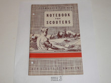 Scoutmaster Training, Notebook for Scoutmasters, 11-49 printing