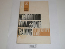 Neighborhood Commissioner Training Instructor's Guide, 4-68 printing
