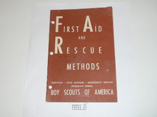 First Aid and Rescue Methods, Civil Defense Series by the Boy Scouts of America, 3-51 printing