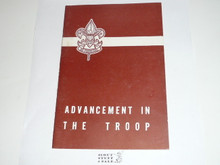 Advancement in the Troop, 7-58 Printing