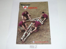 Venture Program Skill Book, Survival, 1990 Printing