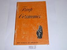 Troop Ceremonies, 7-55 Printing
