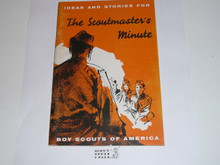 The Scoutmaster's Minute, 11-56 Printing