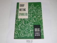 Group Meeting Sparklers, 8-69 Printing