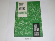Group Meeting Sparklers, 6-63 Printing