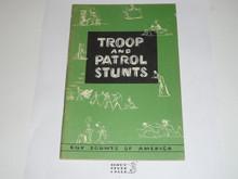 Troop and Patrol Stunts, 1-60 Printing