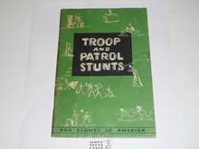 Troop and Patrol Stunts, 1-59 Printing, used