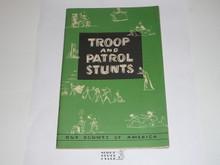 Troop and Patrol Stunts, 9-57 Printing