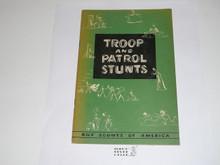 Troop and Patrol Stunts, 5-53 Printing