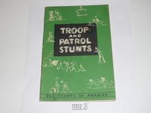 Troop and Patrol Stunts, 5-54 Printing