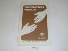 Operation Reach Guidebook for Scouts, Drug Education Program
