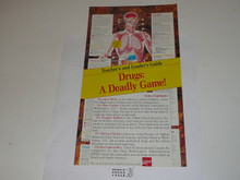 Drugs: A Deadly Game Teachers and Leader's Guide, BSA publication, 1980's