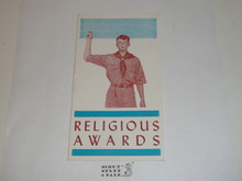 Religious Awards, Boy Scouts of America, 5-65 Printing