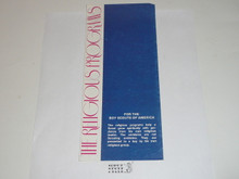 The Religious Programs of the Boy Scouts of America, 9-75 printing