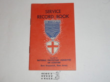 Protestant, Service Record Book for the God and Country Award, 7-65 printing