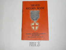 Protestant, Protestant Religious Award Medal Record Book, completed, 1956 printing