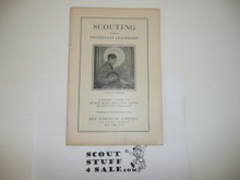 Protestant, Scouting Under Protestant Leadership, 1920's printing