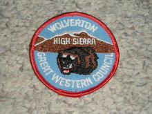 1970's Camp Wolverton Patch - Southern California Scouting