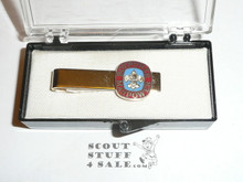 Boypower Manpower National Boy Scout Theme Tie Bar, New in Box