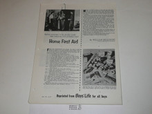 Topic Reprint, Home First Aid Boys' Life Single Topic Reprint #6-47